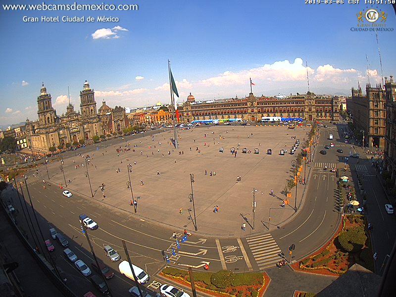 www.webcamsdemexico.com Ciudad de México.